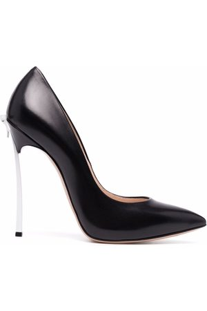 Casadei Blade leather pumps