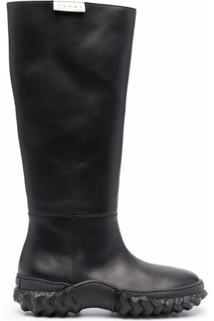 Marni Naiset Ylipolvensaappaat - Knee-length leather boots