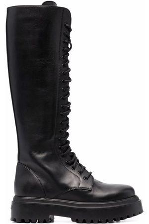 Le Silla Naiset Nauhalliset saappaat - Ranger lace-up boots