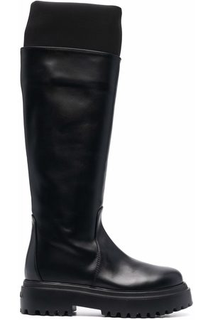 LE SILLA Knee-high leather boots