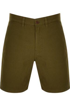 Nudie Jeans Jeans Luke Worker Shorts Green