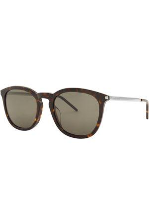 Saint Laurent T 360 002 Sunglasses Brown