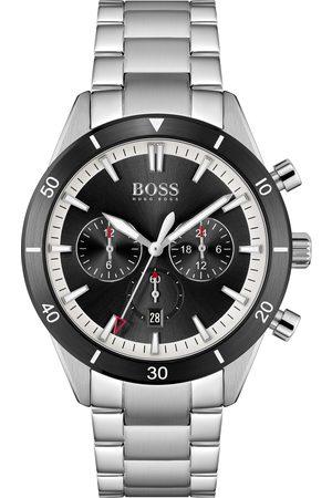 HUGO BOSS Miehet Kellot - BOSS 1513862 Santiago Watch Silver