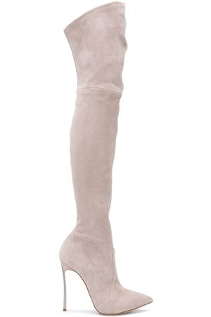 Casadei Came thigh-high boots