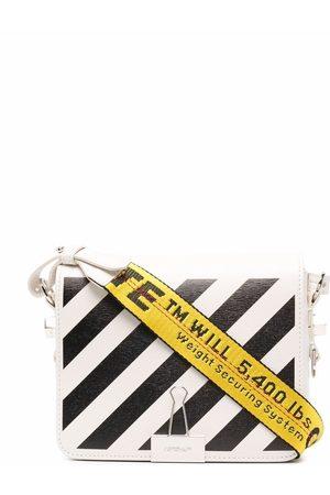 Off-White Diag logo-plaque shoulder bag