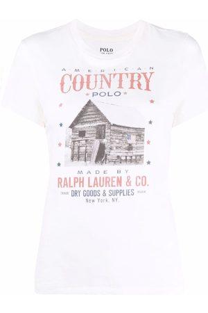 Polo Ralph Lauren Logo-print short-sleeved T-shirt