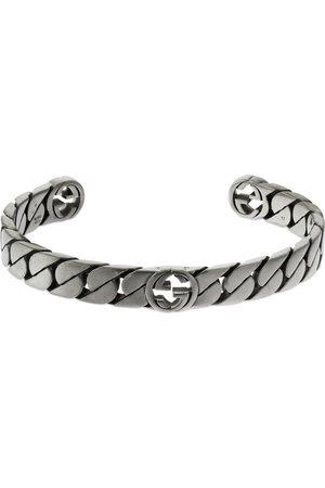Gucci Miehet Rannekorut - Wide Interlocking G Cuff Bracelet