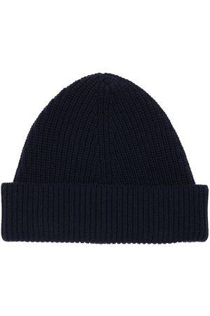 Maison Margiela Miehet Hatut - Cotton & Wool Blend Beanie Hat