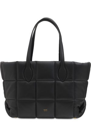 Khaite Florence Quilted Leather Tote Bag