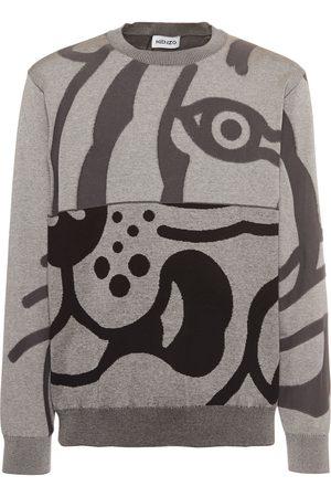 Kenzo K-tiger Cotton Sweatshirt