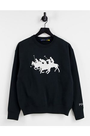 Polo Ralph Lauren Pony heard sweater in black