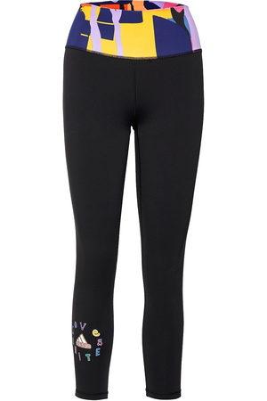 adidas Naiset Leggingsit - Love Unites Believe This Graphic High Waist Tights W Running/training Tights