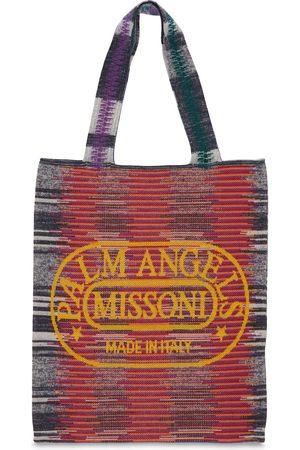 Palm Angels & Missoni Knit Tote Bag