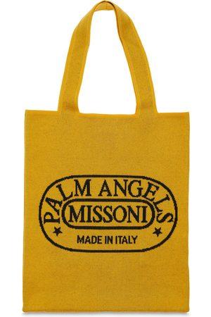 Palm Angels Naiset Ostoskassit - & Missoni Knit Tote Bag