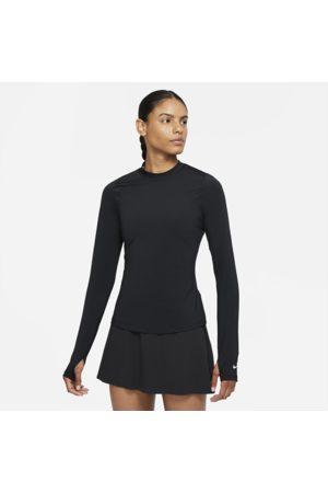 Nike Dri-FIT UV Victory Women's Long-Sleeve Golf Top - Black