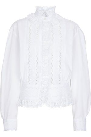 Paco rabanne Broderie anglaise blouse
