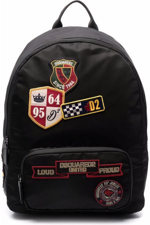 Dsquared2 Kids Embroidered-logo patch backpack