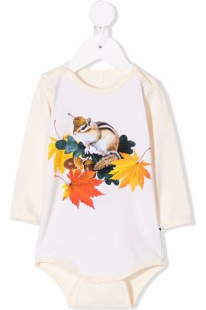 Molo Chipmunk-print babygrow