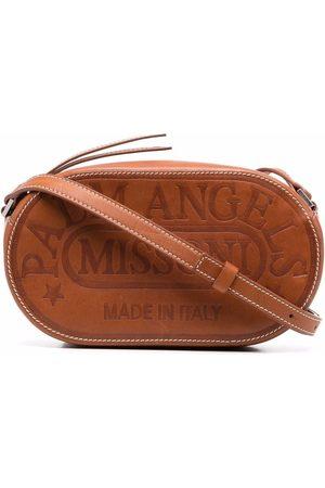 Palm Angels X Missoni logo-debossed camera bag