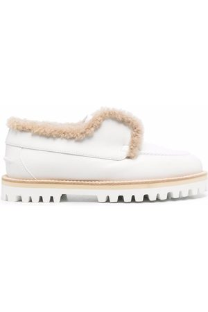 Le Silla Chunky-sole leather loafers
