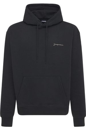 Jacquemus Miehet Collegepaidat - Le Sweatshirt Brodé Jersey Hoodie