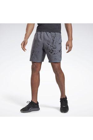 Reebok Miehet Shortsit - Workout Ready Allover Print Shorts