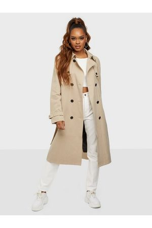 Calvin Klein Cotton Tencel Trench Coat