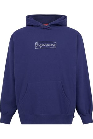 Supreme Collegepaidat - X Kaws chalk logo hoodie