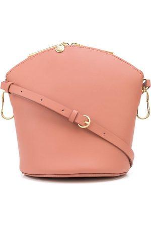ZAC Zac Posen Naiset Olkalaukut - Belay top-zip leather crossbody bag