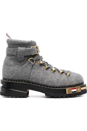Thom Browne Naiset Nauhalliset saappaat - Low-heel lace-up boots