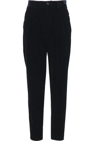 Armani 17cm Stretch Viscose & Cupro Pants