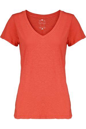 Velvet Odelia short-sleeved cotton T-shirt