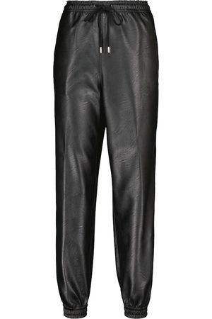 Stella McCartney Kira faux leather sweatpants