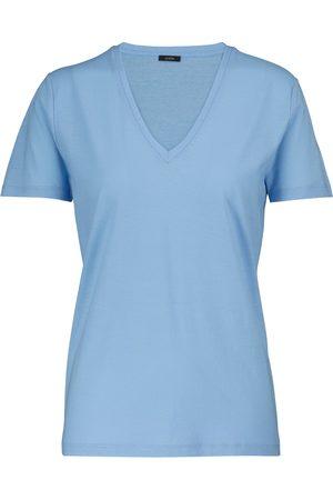 Joseph V-neck cotton jersey T-shirt