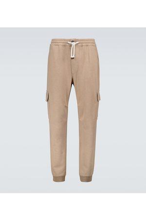 Brunello Cucinelli Cargo jersey sweatpants