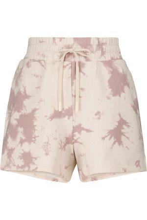 Varley Glade tie-dye jersey shorts