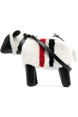 Thom Browne Naiset Olkalaukut - RWB stripe sheep crossbody bag