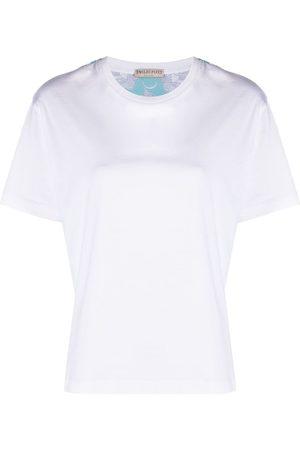 Emilio Pucci Rugiada print panelled T-shirt