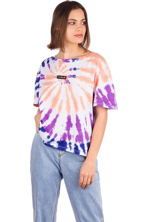 Hurley Naiset T-paidat - One & Only Tie Dye Flouncy T-Shirt