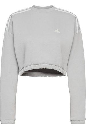 adidas Crop Crew Sweatshirt W Svetari Collegepaita Harmaa