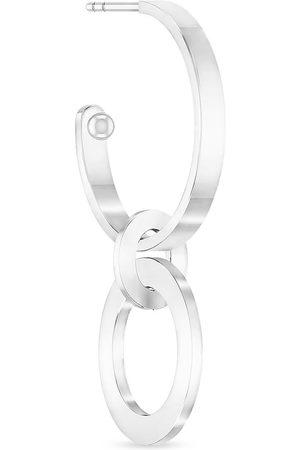 ID FINE JEWELRY Naiset Korvarenkaat - Chunky Double Hoop Silver Accessories Jewellery Earrings Hoops Kulta