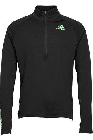 adidas Performance Adizero Warm 1/2 Zip Long Sleeve Tee T-shirts Long-sleeved
