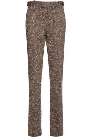 Bottega Veneta Naiset Stretch - Stretch Knotted Herringbone Pants