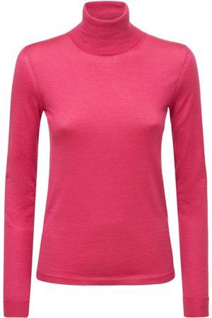 VALENTINO Naiset Poolopaidat - Cashmere & Silk Blend Turtleneck Sweater