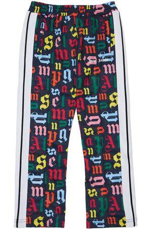 PALM ANGELS Tytöt Collegehousut - All Over Logo Techno Sweatpants