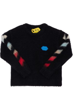 OFF-WHITE Tytöt Neuleet - Wool Blend Knit Sweater