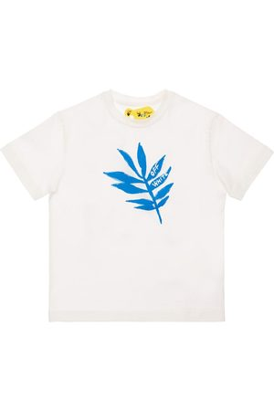OFF-WHITE Printed Cotton Jersey T-shirt