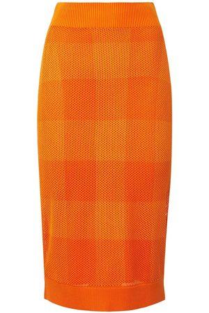 Burberry Naiset Kynähameet - Zafina Knit Midi Pencil Skirt