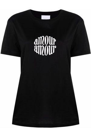 Patou Naiset T-paidat - Slogan-print T-shirt