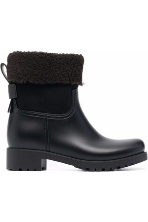 See by Chloé Naiset Nilkkurit - Shearling-lined leather ankle boots